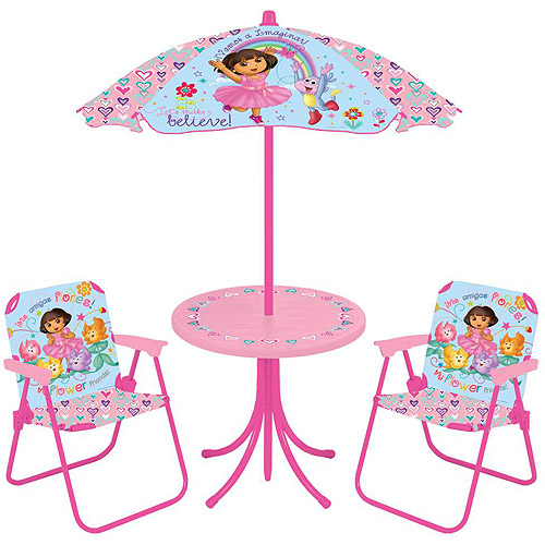 Nickelodeon - Dora the Explorer 4-Piece Patio Set