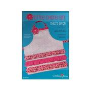 Cabbage Rose Little Chore Girl Apron Ptrn