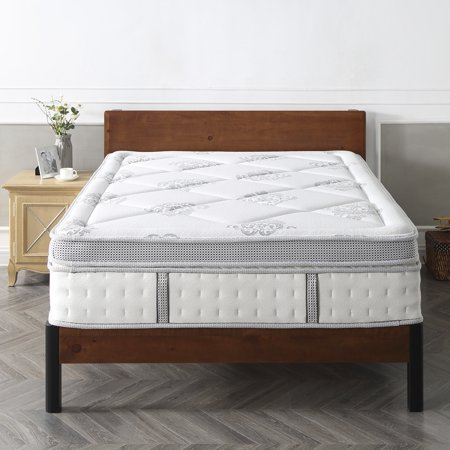Modern Sleep Gramercy Euro Top Cool Gel Memory Foam And Innerspring Hybrid 14 Inch Mattress Multiple Sizes