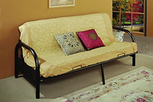 "29"" Arm Black Futon Frame by Donco Kids"