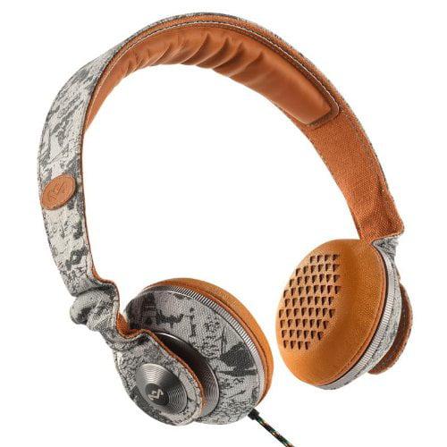 House Of Marley Riddim Desert On-Ear Headphones EM-JH053-DT
