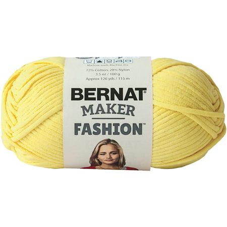 Bernat Maker Fashion Yarn Yellow