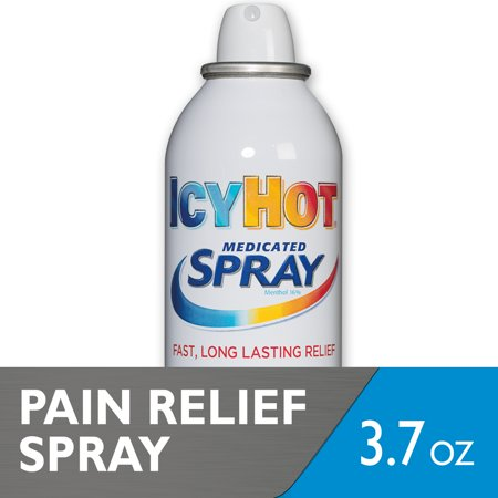Icy Hot Maximum Strength Medicated Pain Relief Spray, 3.7 Ounces