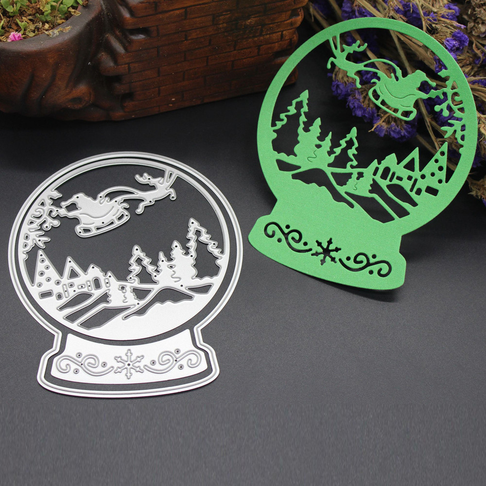 Big Sales Sliver Merry Christmas Metal Cutting Dies Stencils Scrapbooking Embossing DIY Crafts H