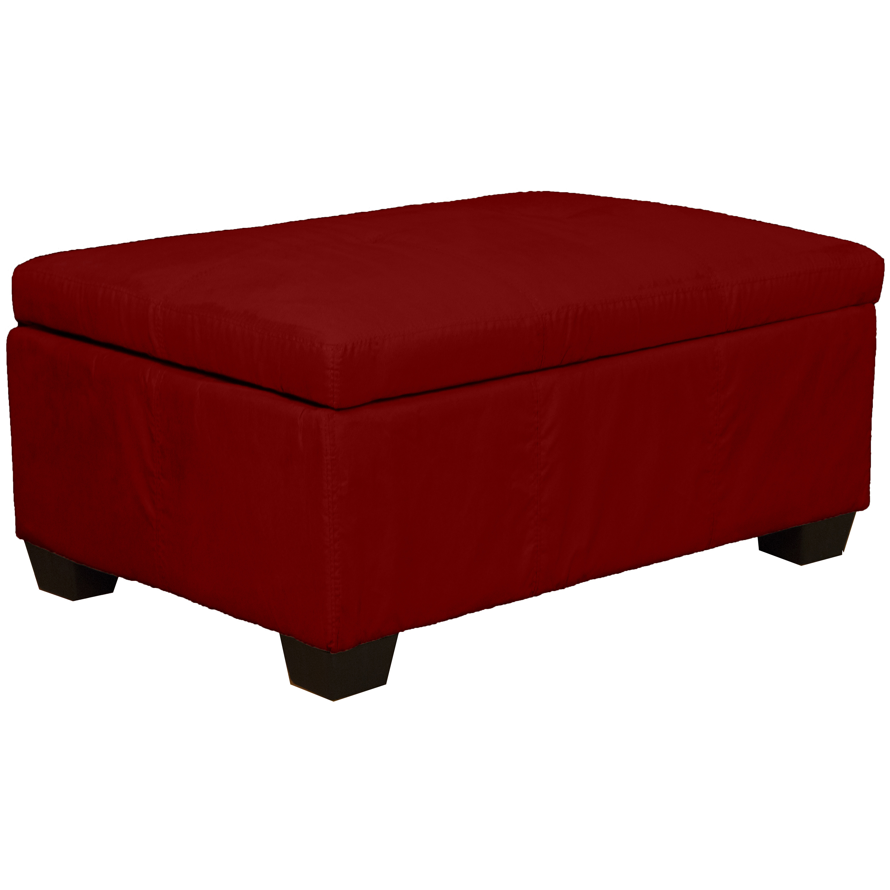 Timeless 36 By 24 By 18 Inch Storage Ottoman Bench Suede