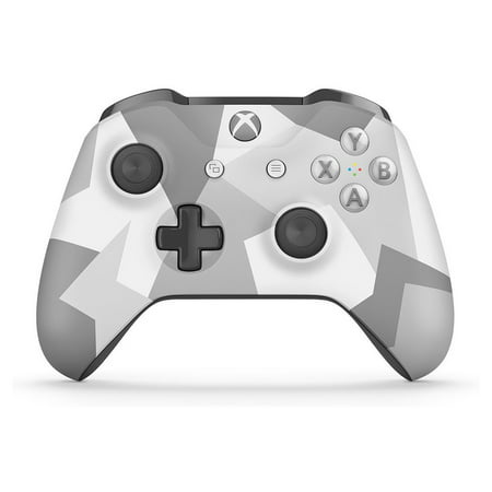 Microsoft Xbox One Wireless Controller, Winter Forces Special Edition (Walmart Exclusive), WL3-00043 (Xbox Accessories Game Controllers)