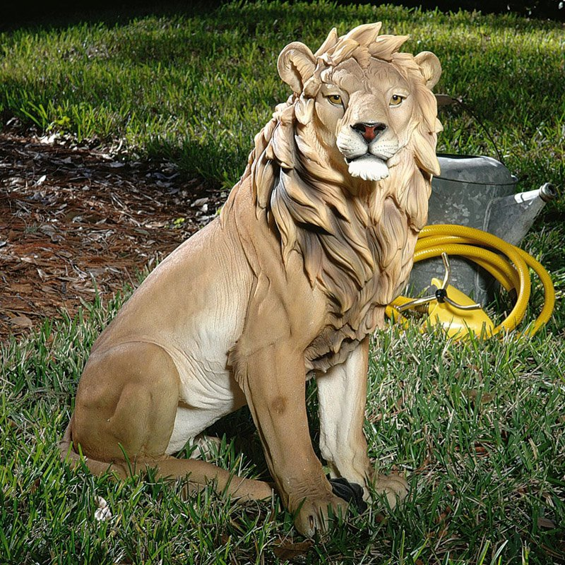Design Toscano King of Beasts Lion Garden Statue by Design Toscano