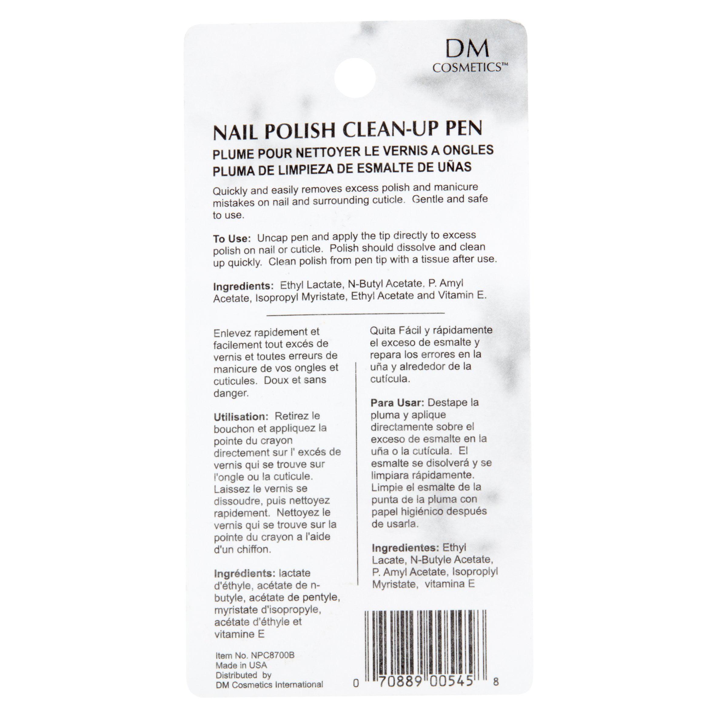 Dri Mark Nail Polish Remover And Touch Up Pen - Walmart.com