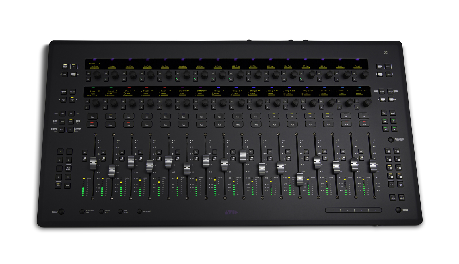 Avid Pro Tools S3 Control Surface by