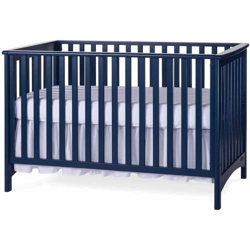 Child Craft London Stationary 3 in 1 Crib, Gray