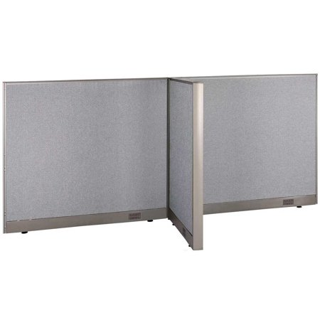"""GOF T-Shaped Freestanding Partition 30""""D x 96""""W x 48""""H / Office, Room Divider"""