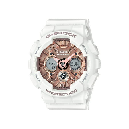 Casio G-Shock Women's Shock Resistant 200 Meter Water Resitant Watch, ( Model GMA-S120MF-7A2CR)