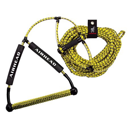 Xtreme Wakeboard - Wakeboard Rope, Phat Grip, Trick Handle, Yellow