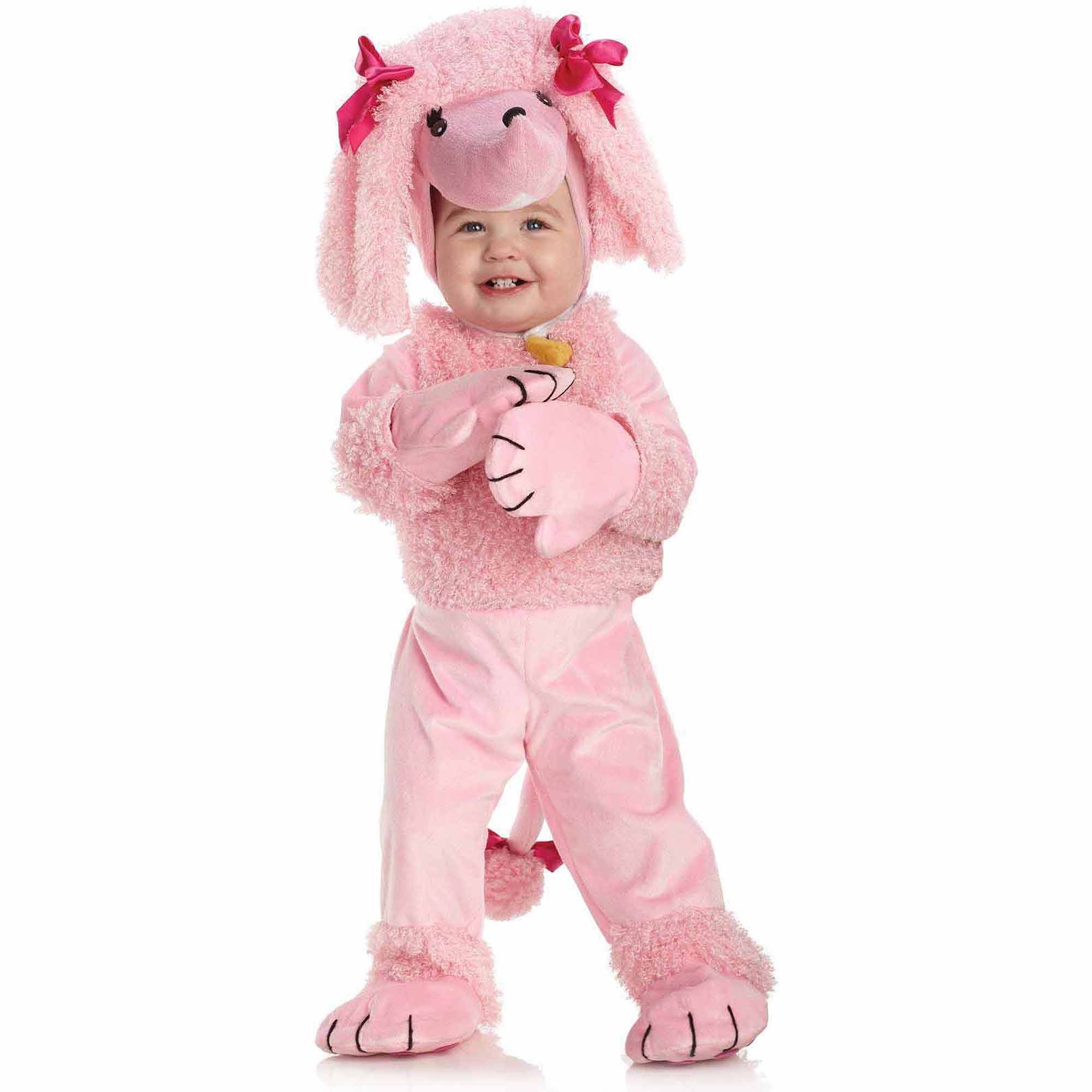 Pink Poodle Child Halloween Costume, 4-6