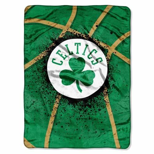 Boston Celtics Oversize Plush Blanket