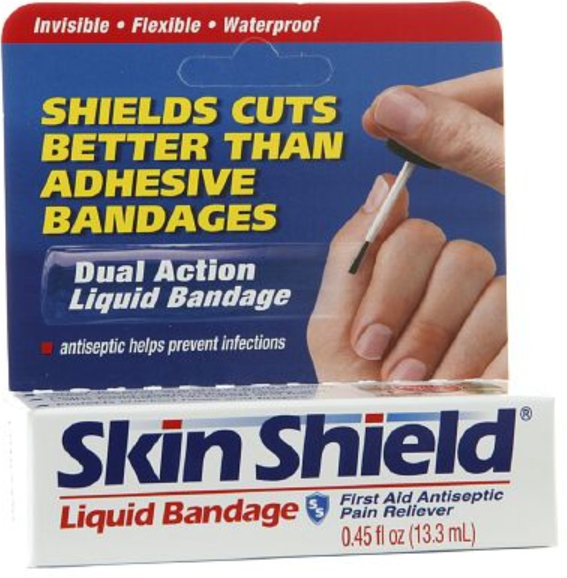 Skin Shield Liquid Bandage 0.45 oz (Pack of 2) by