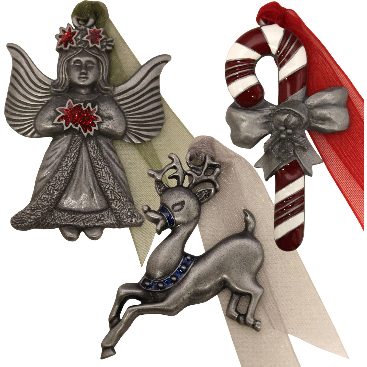Personalized Gloria Duchin Legends of Christmas Ornaments, Set of 6