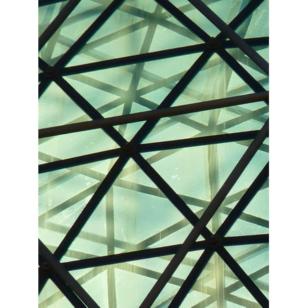 Museum Glass (LAMINATED POSTER Museum Figueras Glass Dome Dal Spain Poster Print 24 x 36 )