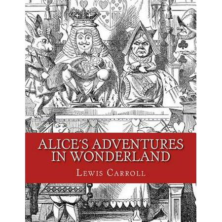 Alices Adventures in Wonderland : Original Edition of 1865 - Hipster Alice In Wonderland