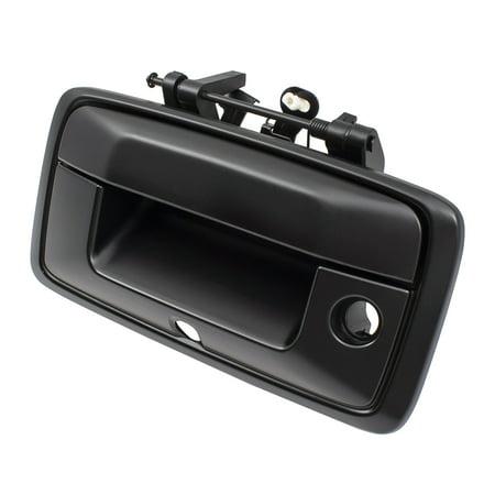 BROCK Tailgate Rear Gate Handle Black Specialty 14-15 Silverado Sierra 1500 Pickup Truck 15 2500 HD/3500 HD 23448681 (Silverado 1500 2500 Pickup Truck)
