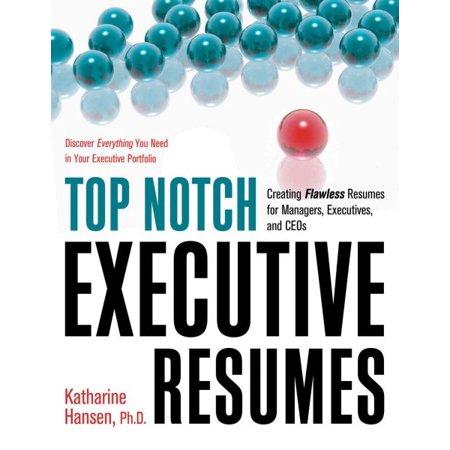 Top Notch Executive Resumes