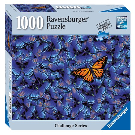 Butterfly Challenge - 1000 Piece Jigsaw Puzzle - Ravensburger