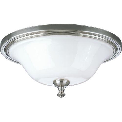 "Progress Lighting P3326 Victorian 16"" Two-Light Oval Flush Mount Ceiling Fixture"