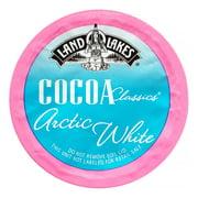 Land O Lakes Cocoa Classics, Hot Cocoa Single Serve Cups, Artic White Hot Cocoa Mix, .53 oz, 10 count