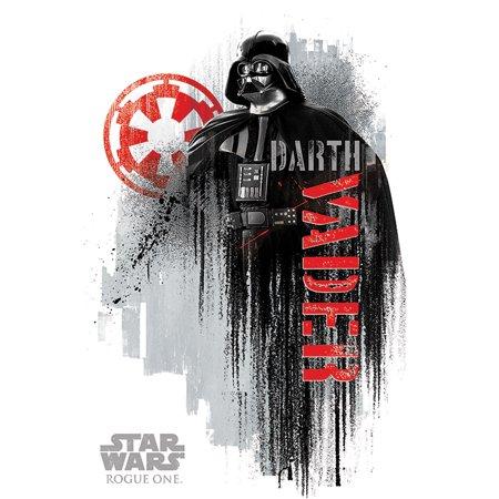 Star Wars: Rogue One - Movie Poster / Print (Darth Vader / White Background) (Size: 24