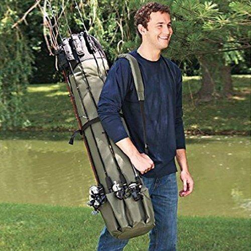 Fishing Rod Reel Case Bag Organizer Travel Carry Carrier Holder Pole Tools Bags Walmart Com Walmart Com