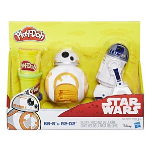 Play-Doh Star Wars BB-8 and R2-D2 Figure Set