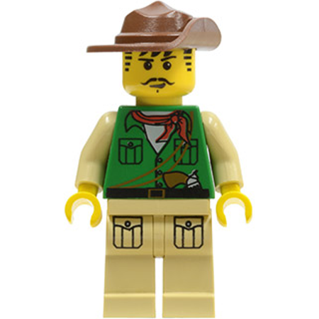 LEGO Adventurers Johnny Thunder (Expedition) (Expedition Mint)