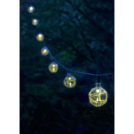 Moonrays String Lights : Moonrays 91130 Solar Powered LED Buoy String Lights, White - Best String Lights