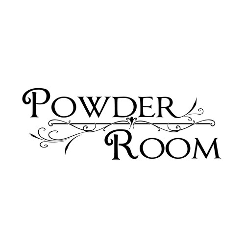 Fireside Home Powder Room Wall Decal