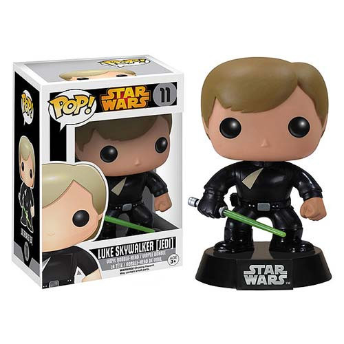 Funko Pop! Star Wars Movie Luke Skywalker Jedi Licensed Vinyl Figure