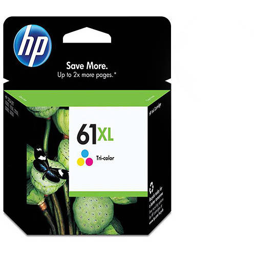 HP 61XL Tri-color High Yield Original Ink Cartridge (CH564WN)