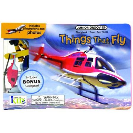 Things That Fly Board Book [With Planes]