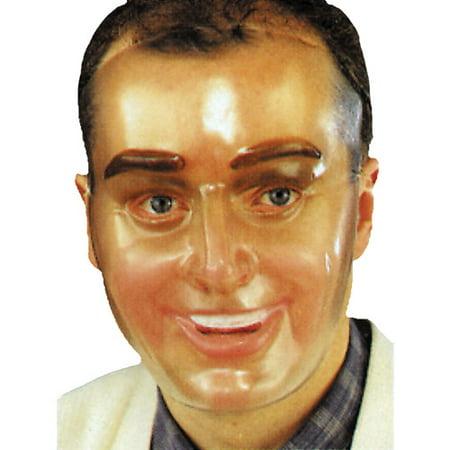 Plastic Young Male Transparent Mask Halloween Accessory](Kawaii Halloween Transparent)