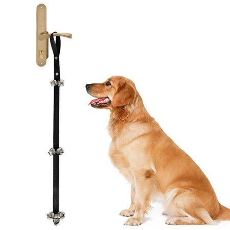 Tinkle Bells, Quality Dog Doorbells, Housetraining Doggy Door Bells for Potty Training Training Bell for Housebreaking Dog Doorbells Adjustable