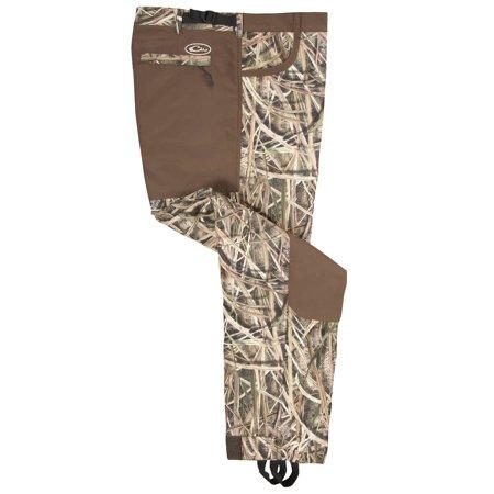 Drake MST L Long Men's Collared Under-Wader Pants Camouflage ()