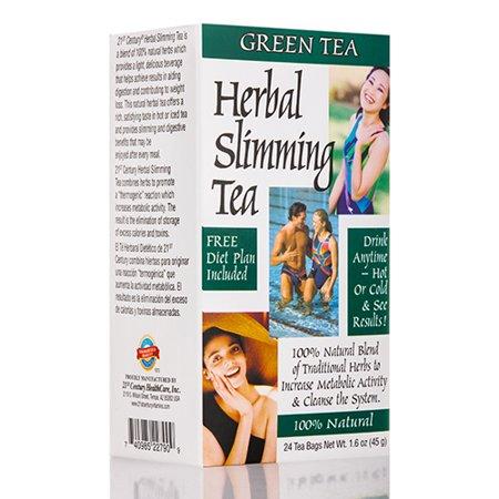 Minceur Thé vert - 24 sachets de thé par 21st Century