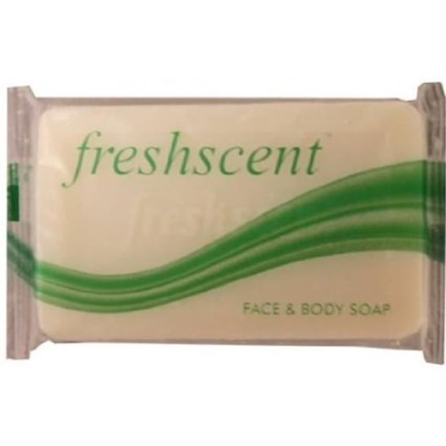 Freshscent NWI-FBS34-1000 Wrapped Face and Body Soap, 1000 per Case, 0.75 oz.