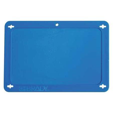 BRADY 41927 Blank Tag,2-1/2 x 4 In,Bl,Plstc (Brady Plastic Labels)