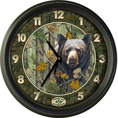 "Image of American Expedition 16"" Wall Clock Camo Series"