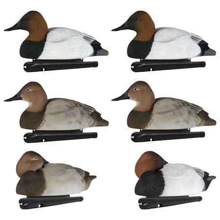 Avian X Foam Filled Floating Canvasback Duck Waterfowl Hunting Decoys (6