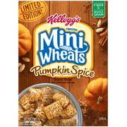 Kellogg's Mini Wheats Cereal, Pumpkin Spice, 15.5 Oz