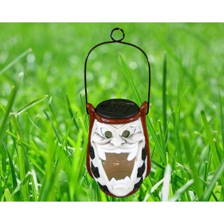 Bzb Goods Ghost Ceramic Solar Powered Changing Outdoor Hanging Pendant