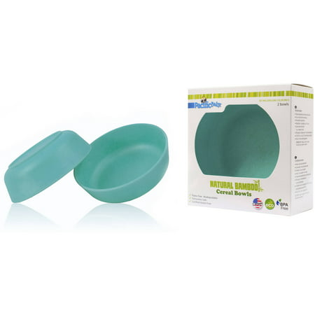 Pacific Baby Bamboo Cereal Bowls, Pack of 2