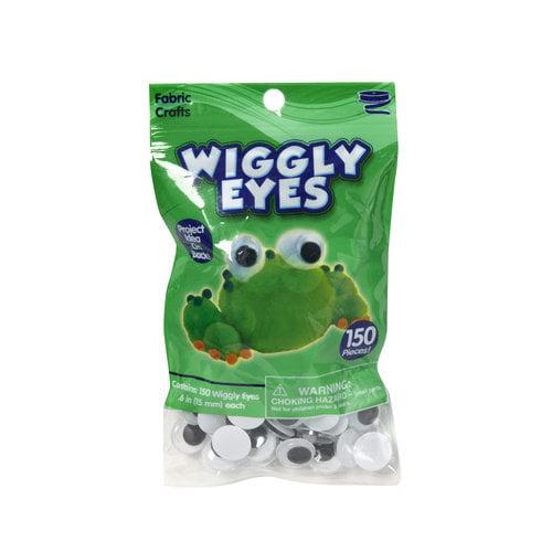 Kids Craft Wiggly Eyes, 150pk
