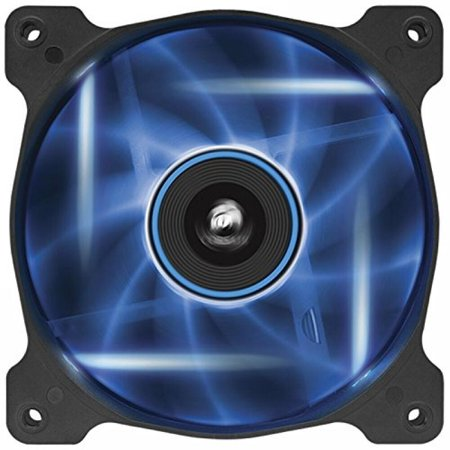Corsair Air Series AF120 LED Quiet Edition High Airflow Fan Single Pack - (Corsair Air Series Af120 Led Quiet Edition)